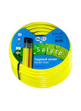 Шланг поливочный Presto-PS садовый Salute диаметр 1 дюйм, длина 50 м (SN 1 50)