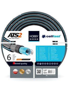 Шланг для полива Cellfast Hobby садовый диаметр 5/8 дюйма, длина 50 м (HB 5/8 50)