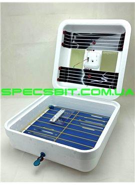 Инкубатор Рябушка SMARTмеханический переворот 70 яиц, аналоговый, ТЭН