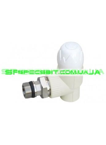 Вентиль радиаторный 20x1/2 Blue Ocean (Блю оушен) угловой буксовый