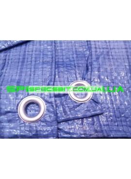 Тент (шатер, навес, брезент) полиэтиленовый водостойкий синий Wimar плотность 65 г/м2