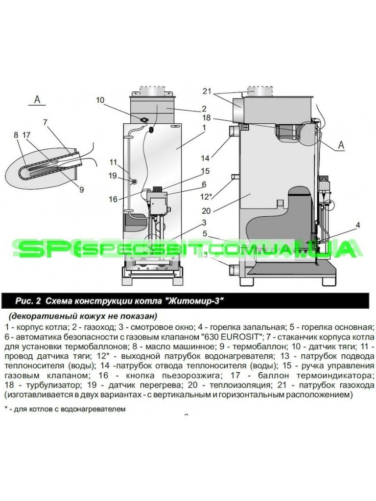 Инструкция житомир 3 кс г 015 сн