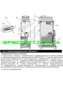 Котел газовый АТЕМ Житомир-3 КС-ГВ-025 СН двухконтурный напольный дымоходный (назад/вверх)