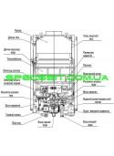 Газовая колонка АТЕМ Житомир ВПГ-16 с дисплеем