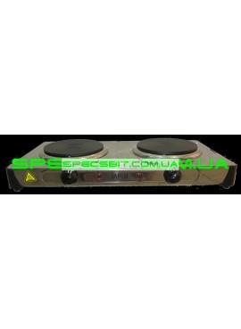 Электрическая плита МРИЯ НЭП-2КБ двухконфорочная блин нержавейка