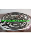 Электрическая плита МРИЯ ПЭ-2КС двухконфорочная спираль эмаль