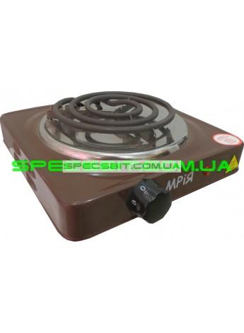 Электрическая плита МРИЯ ПЭ-1КС одноконфорочная спираль эмаль