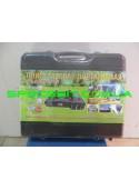 Портативная туристическая газовая плита Пикник с адаптером в кейсе