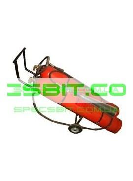 Огнетушитель ВВК-56 (ОУ-80) углекислотный передвижной