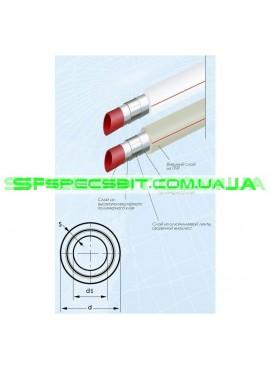 Труба алюминиево-полимерная композитная PN25 40x5.0 Blue Ocean T- Fusion