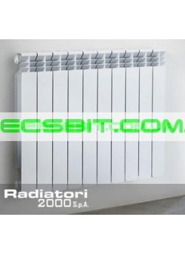 Радиатор отопления алюминиевый Radiatori 2000 Magnus 500x100 Италия