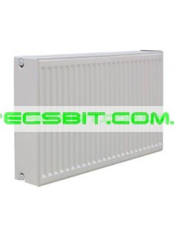 Стальной радиатор отопления Tiberis (Тиберис) тип 33 Италия 500x1400