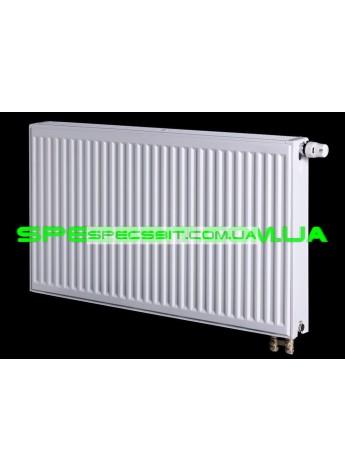 Стальной радиатор отопления Tiberis (Тиберис) тип 22 Италия 500x500 нижнее подключение