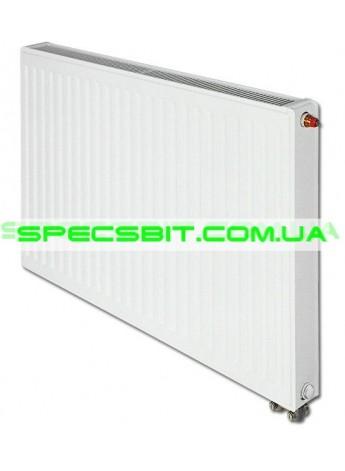Стальной радиатор отопления Tiberis (Тиберис) тип 11 Италия 500x400 нижнее подключение