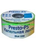 Лента капельного полива 10 Presto (Престо) Blue Line 1000м