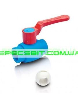Кран шаровый 25 Blue Ocean (Блю Оушен) с шариком из PPSU