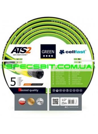 Шланг Cellfast (Селфаст) Green ATS2 ПВХ пятислойный армированный 3/4 19мм 25м