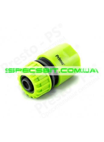 Коннектор Presto (Престо) для шланга 1/2-5/8 №5809 green