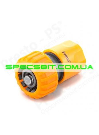 Коннектор Presto (Престо) для шланга 3/4 + аквастоп №5820