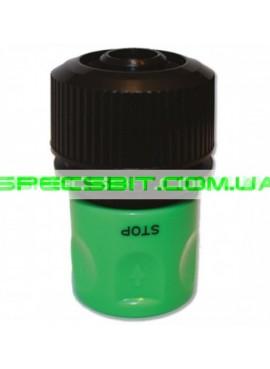 Коннектор Presto (Престо) для шланга 3/4 + аквастоп №4112