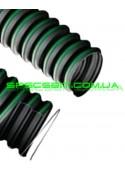 Шланг гофра IPL Vulcano (ИПЛ Вулкано) TPR-A резиновый армированный 400мм