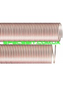 Шланг гофра IPL Vulcano (ИПЛ Вулкано) HDS 15 полиуретановый армированный 110мм