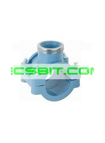 Седло Зажимное 125x3/4 Santehplast (Сантехпласт)