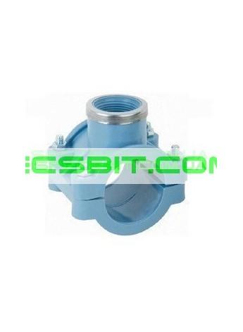 Седло Зажимное 110x1 1/2 Santehplast (Сантехпласт)