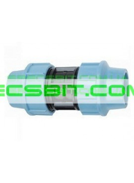 Муфта зажимная 25x25 Santehplast (Сантехпласт)