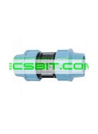 Муфта зажимная 40x40 Santehplast (Сантехпласт)