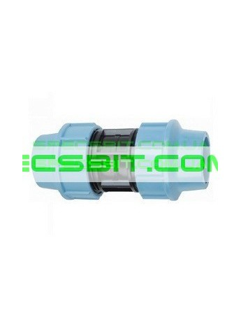 Муфта зажимная 63x63 Santehplast (Сантехпласт)
