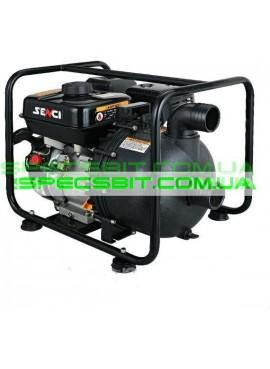 Бензиновая мотопомпа Senci SCCP50 (для хим. жидкостей)