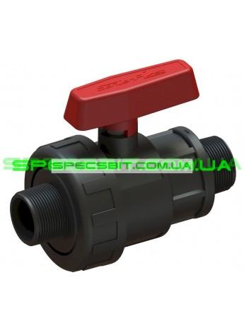 Кран шаровый HH 63x2 Santehplast (Сантехпласт) компрессионный