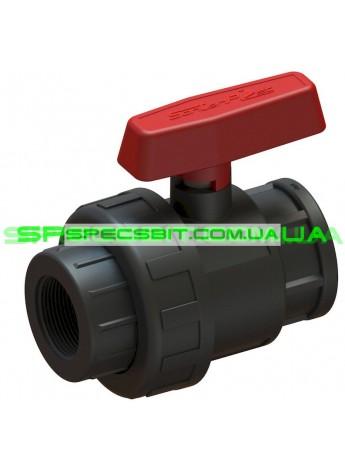 Кран шаровый ВВ 32x1 Santehplast (Сантехпласт) компрессионный