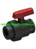 Кран шаровый ВВ 50x1 1/2 Santehplast (Сантехпласт) компрессионный