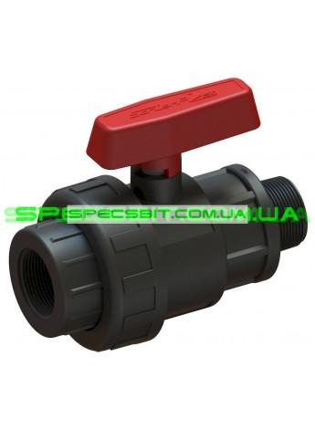 Кран шаровый ВН 63x2 Santehplast (Сантехпласт) компрессионный