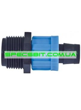 Соединение для ленты с наружной резьбой 1/2 Santehplast (Сантехпласт)