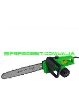 Цепная электропила Craft-Tec (Крафт-Тек) EKS-1500 1,5 кВт поперечный двигатель