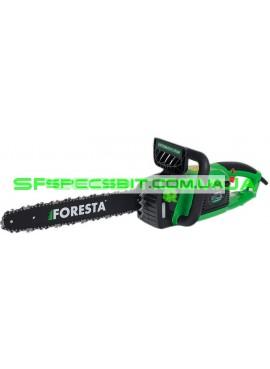 Цепная электропила Foresta (Фореста) 2,6 кВт продольный двигатель