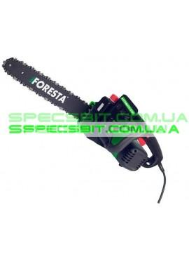 Цепная электропила Foresta (Фореста) 2,3 кВт поперечный двигатель