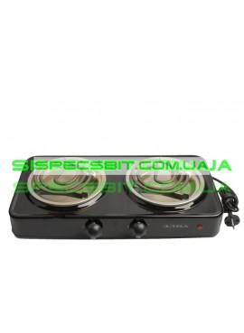 Электроплитка двухконфорочная Элна-200Ц спираль тонкая