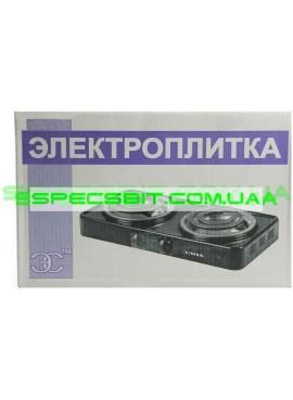 Электроплитка двухконфорочная Элна-200А спираль