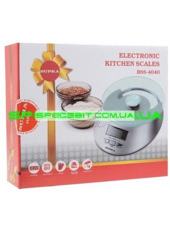 Весы кухонные SUPRA (Супра) BSS 4040