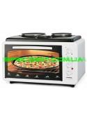 Электрическая духовка Asel (Асель) AF-0125 с 2-мя плитами