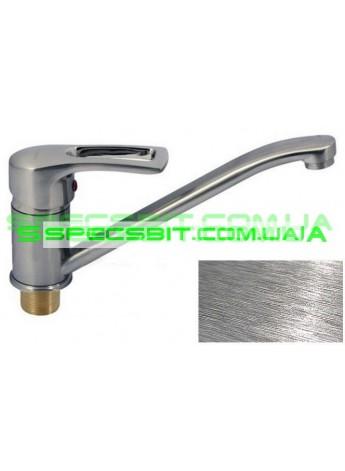 Смеситель для кухни Haiba (Хайба) Hansberg stainless steel 555 25 см
