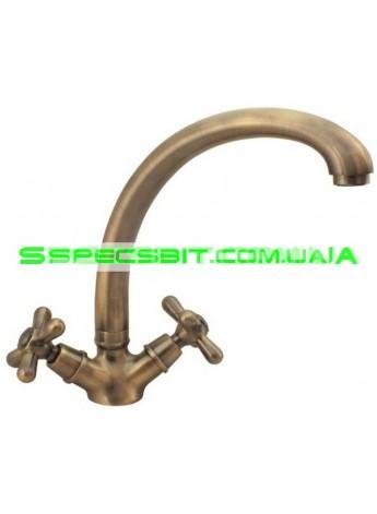 Смеситель для кухни Haiba (Хайба) Dominox bronze 273