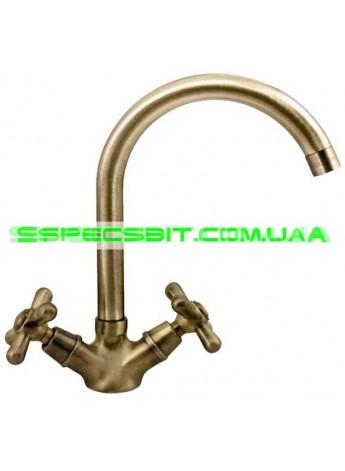 Смеситель для кухни Haiba (Хайба) Dominox bronze 274