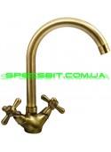 Смеситель для кухни Haiba (Хайба) Dominox bronze 275