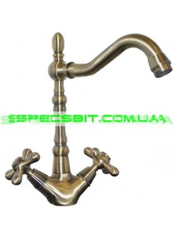Смеситель для кухни Haiba (Хайба) Dominox bronze 777