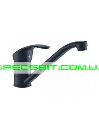 Смеситель для кухни Haiba (Хайба) Hansberg Black 004 25 см